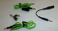 Genuine AKG Audio Aux Cable Cord with Mic and Adapters for  QC35  Headphones