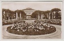Somerset postcard - Rose Walk, Winter Gardens, Weston Super Mare - P/U 1951