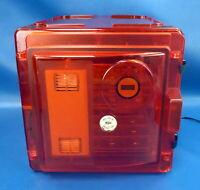 Bel-Art ScienceWare Secador 2.0 Amber Auto-Dessicator w/ 2 Shelves & AC Adapter