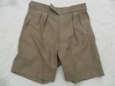 NEW RAF NO6 Tropical Stone fawn unisex Bush Shorts Royal Air force ARMY no4 36w