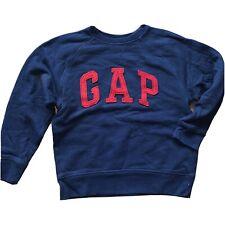 Boys Navy Blue GAP logo Sweatshirt Age 6-7
