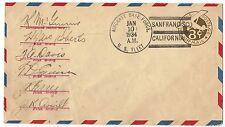 Transocean Rcd #1200, VP-10 Pilot Signed Naval Flight Flown To Hawaii 1/10-11/34
