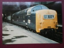 POSTCARD A DELTIC AT THE HEAD OF THE 'FLYING SCOTMAN' AT KINGS CROSS
