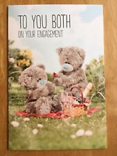 "'To You Both' Me To You Engagement Card - Tatty Bear - 9""x6"" Congratulations"