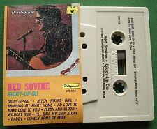 Red Sovine Giddy Up Go Hollywood Label HT-116 Cassette Tape - TESTED
