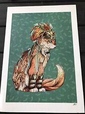 Witch Cat By Sandra Dieckmann A4