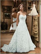 A Line Casablanca Bridal Wedding Dresses