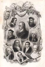 Alfieri, L.de Medici, Trissino, Bibbiena, Metastasio, Maffei, Nicolini, Goldoni
