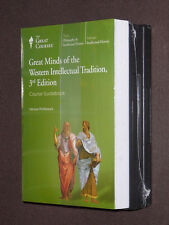 Teaching Co Courses DVDs  GREAT MINDS of the WESTERN INTELLECTUAL TRADITION