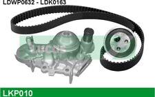 LUCAS Bomba de agua + kit correa distribución RENAULT CLIO KANGOO TWINGO LKP010