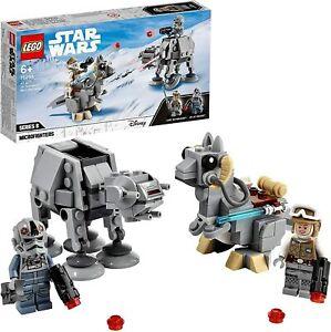 LEGO Star Wars at-at vs. Tauntaun Microfighters 75298 Building Set