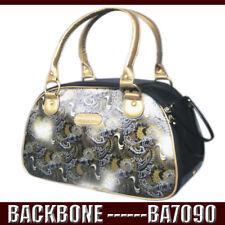 Retro Vintage Paisley Crocodile Finish Pet Cat Carrier Handbag Dog Travel Bag