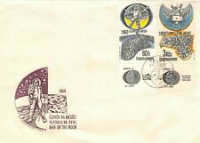 New listing Apollo 11 Czechoslavakia 7/21/69 First Day Cover Incl Labels & Cachet Sc# C75/76