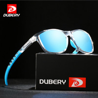 DUBERY Square Polarized Sunglasses For Men Women Outdoor Driving Sport Glasses