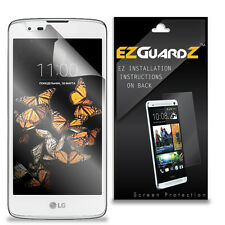 4X EZguardz LCD Screen Protector Skin Cover Shield HD 4X For LG K8 LTE (Clear)