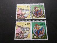 FRANCE 1993, VARIETE COULEURS, timbres 2842/2843, ECRIRE, BD, neufs**, MNH