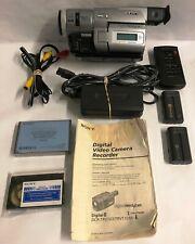 New ListingSony Handycam Dcr-Trv103 Digital8 Video Camera Camcorder W/ Remote & Batteries