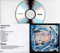 WHITE LIES Big TV UK 12-trk numbered/watermarked promo test CD
