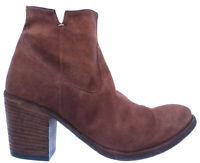 PANTANETTI Chaussures Femmes Bottines 12340D Spaniel Ramato Chamois Marron