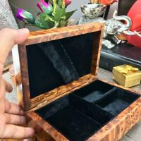 Thuya Black velvet Lined jewelry box, Mosaic Patterns Wooden box, gift wood box