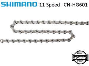 Shimano HG601 - 11 speed Chain 105 R7000 Sil-tec 116 links        SHIMANO HG-X11