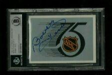 Bobby Hull Ultimate ORIGINAL SIX Autograph BAS BGS Authentic ON-CARD Blackhawks