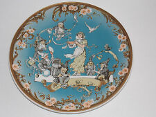 """VILLEROY & BOCH """"Snow White and the Seven Dwarfs"""" Plate - 1980"""