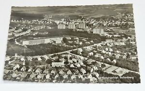"Ansichtskarte ""Buxtehude Siedlungsgebiet Bullenberg"", Luftaufnahme, s/w - H160/K"
