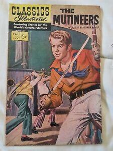 The Mutineers: CLASSICS ILLUSTRATED #122 HRN 136 (2nd printing) Fine