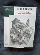 M.C. Escher, 1000 Piece Jigsaw Puzzle, Ascending & Descending (Pomegranate)