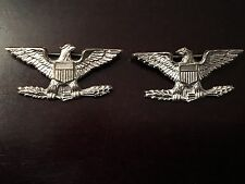 WW2 USMC or NAVY? Colonel Eagle Pair Rank Insignia - *H-H Imperial* PB