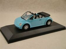 VW NEW BEETLE CONCEPT CAR CABRIOLET 1994 LIGHT BLUE MINICHAMPS 430054030 1/43