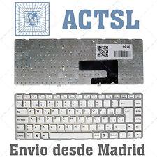 Teclado Blanco Portátil para Sony Vaio 148738061 Español - Castellaño - SP - Ñ