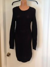 Cherokee Long Sleeve Black Sweater Dress, Size S/P, Great Condition