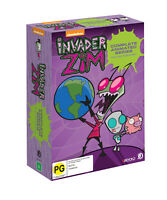 INVADER ZIM - COMPLETE INVASION COLLECTORS SET (6DVD) (ALL REGIONS)