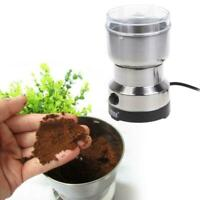 Coffee Grinder Stainless Electric Herbs/Spices/Nuts/Grains/Coffee Beans Grinding