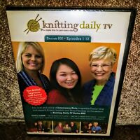 Knitting Daily TV Series 800 Episodes 1-13 - DVD - 4 Disc Set - Region 1 - NEW!