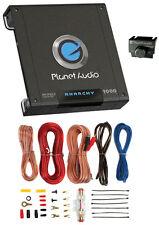 PLANET AUDIO AC1000.2 1000W 2 Channel Car Amplifier Amp AC10002 + 8 Ga Amp Kit