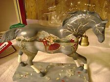 """Trail of Painted Ponies custom """"Holiday on Ice"""" AAOPP artist painted & signed"""