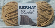 Bernat Blanket Yarn in Sand - New, 150g Ball & from Smoke Free Home