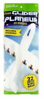 """Lot of (2) Foam Glider Planes 22"""" Wingspan With Stickers US Seller Free Shipping"""
