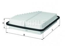 Filtro de aire para suministro de aire Knecht LX 2681