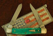CASE XX USA SMOOTH JADE BONE MINI MOOSE KNIFE 62032 SS NICE 2016 (1661)