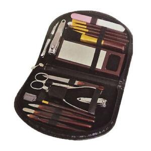 18pc Manicure Set Women Ladies Girls Makeup Travel Home Nail Eye Blusher Kit