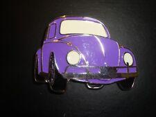 Novelty Volkswagen VW Beetle Belt Buckle - Purple