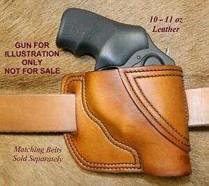 """Gary C's Leather Avenger OWB Right Hand HOLSTER - for the Ruger LCR/LCRx 1-7/8"""""""