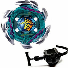 4D Beyblade Kreisel für Metall Fusion Blitz Unicorno Masters BB-117 Launcher Set