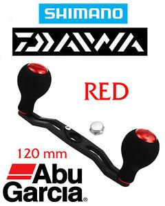 DAIWA ABU GARCIA 120mm for Baitcaster Carbon Fiber Fishing Reel Handle Kit