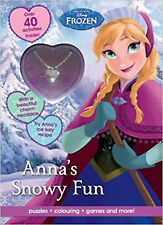 Disney Frozen Anna's Snowy Fun: Puzzles, Colouring, Games and More! (Activity Bo