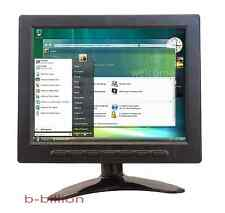 "8"" HD USB Multimedia Player LCD Display HDMI AV CCTV BNC VGA TFT LED Monitor US"